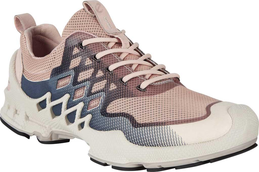 Women's ECCO BIOM Aex Low Sneaker, Rose Dust/Marine Textile, large, image 1