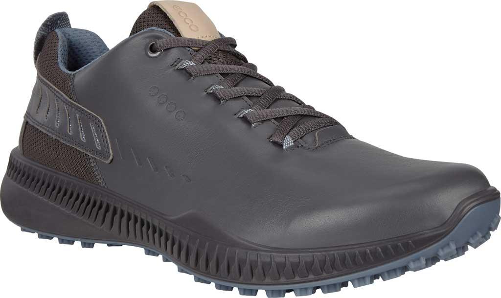 Men's ECCO S-Drive Hybrid Golf Shoe, Magnet Yak Leather, large, image 1