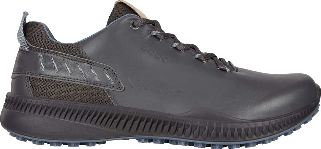 Men's ECCO S-Drive Hybrid Golf Shoe, Magnet Yak Leather, large, image 2