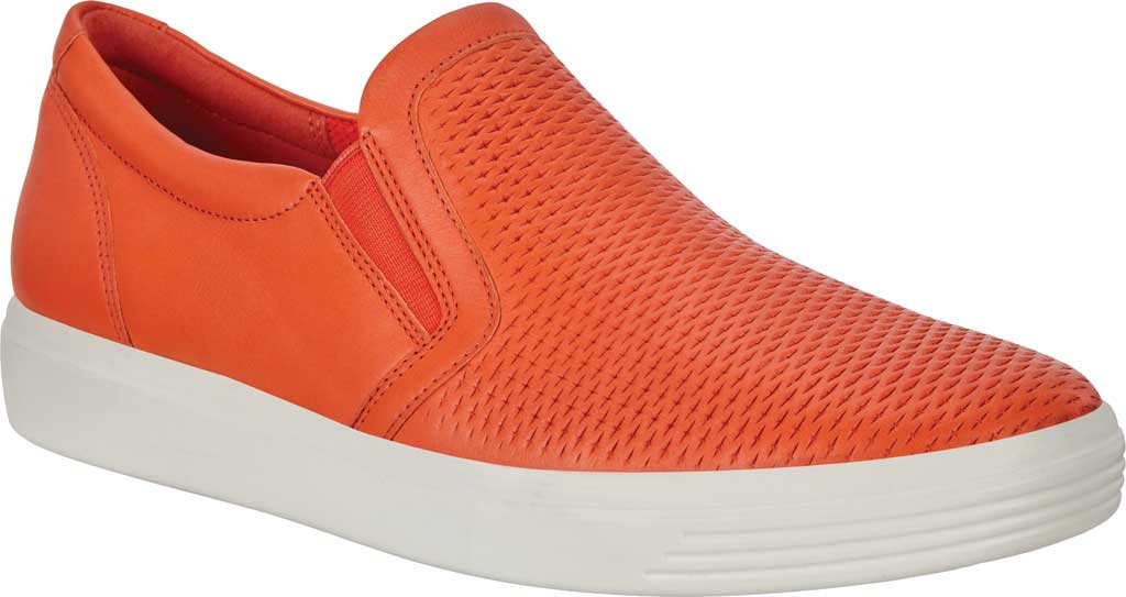 Women's ECCO Soft Classic Slip On Fashion Sneaker, Fire Suede, large, image 1