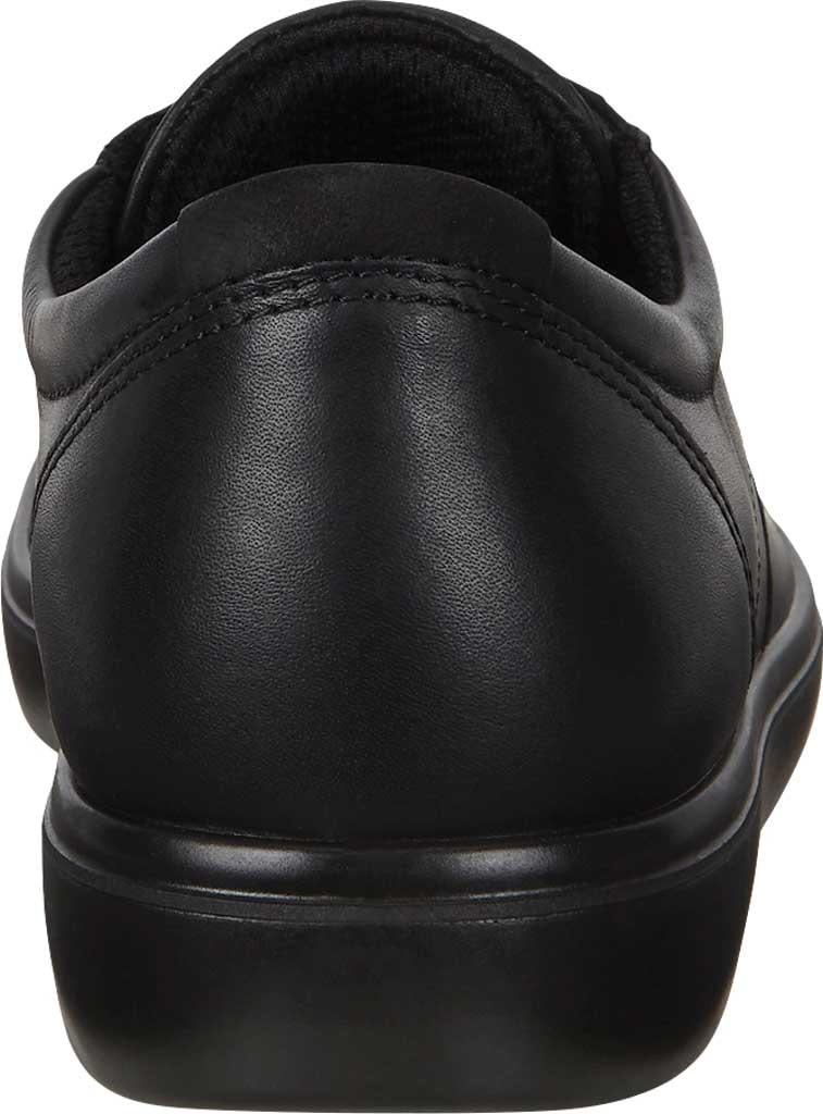 Women's ECCO Soft Classic Lace Sneaker, Black/Black/Black Suede/Nubuck, large, image 4
