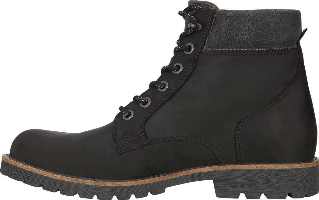 Men's ECCO Jamestown Hydromax High Boot, Black/Magnet Nubuck/Suede, large, image 3