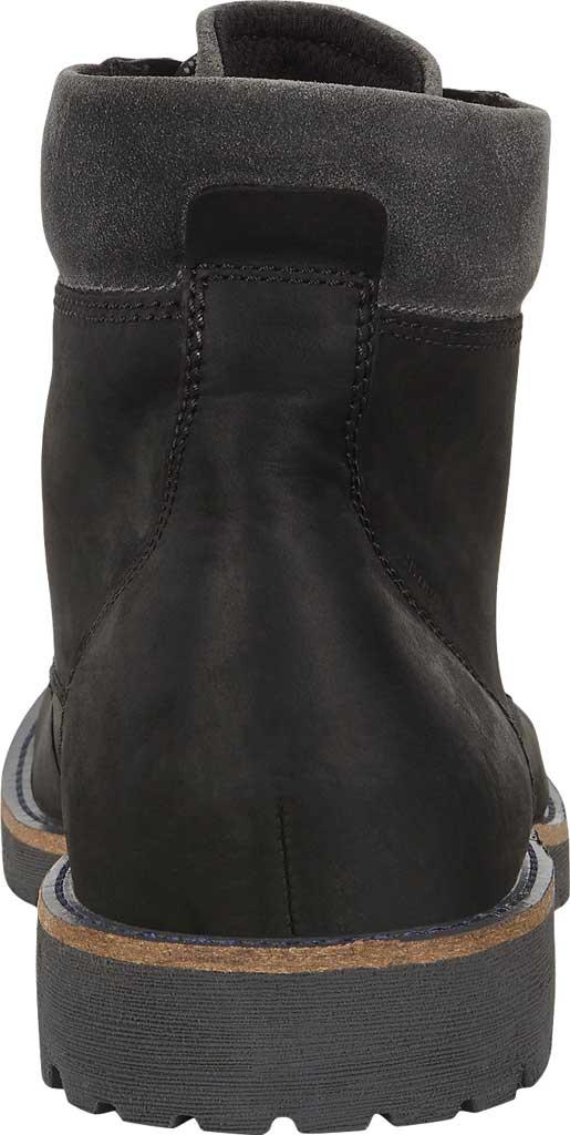 Men's ECCO Jamestown Hydromax High Boot, Black/Magnet Nubuck/Suede, large, image 4