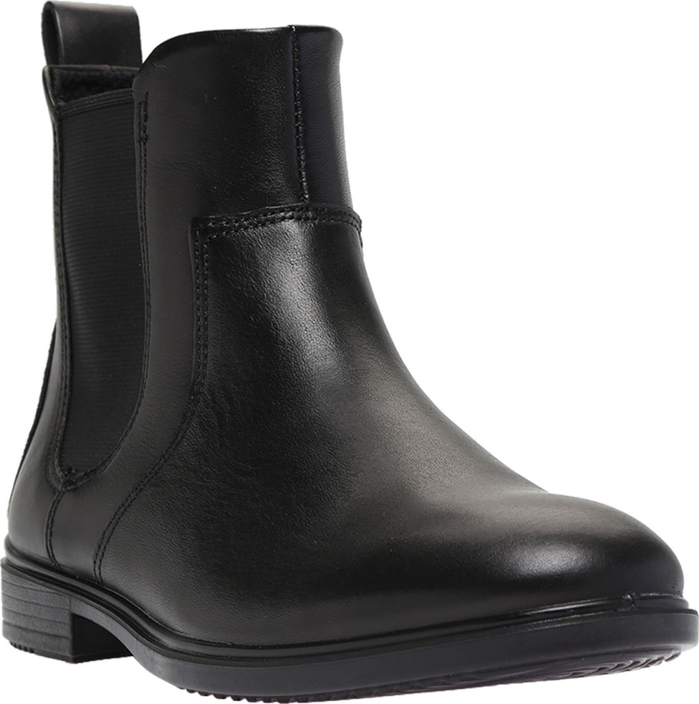 Women's ECCO Touch 15 Chelsea Boot, Black Full Grain Leather, large, image 1
