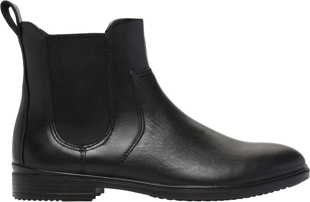 Women's ECCO Touch 15 Chelsea Boot, Black Full Grain Leather, large, image 2