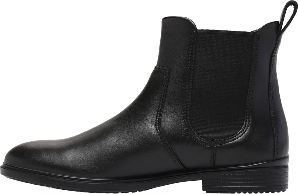 Women's ECCO Touch 15 Chelsea Boot, Black Full Grain Leather, large, image 3
