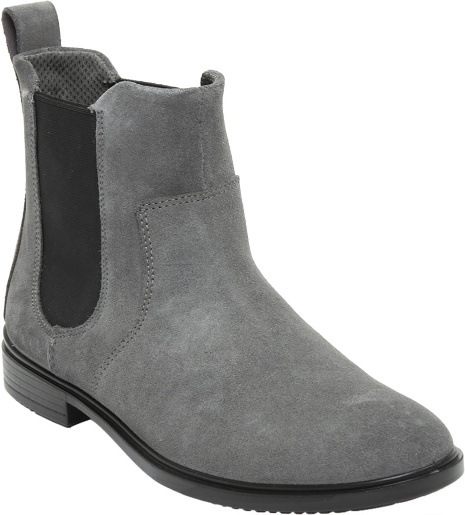 Women's ECCO Touch 15 Chelsea Boot, Magnet Suede, large, image 1