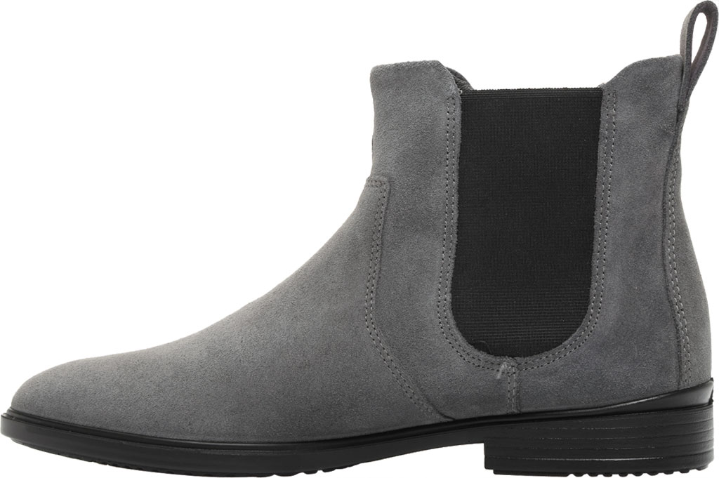 Women's ECCO Touch 15 Chelsea Boot, Magnet Suede, large, image 3