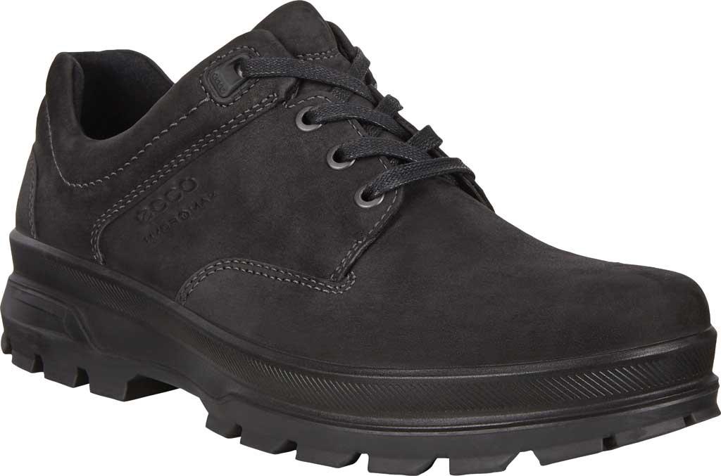 Men's ECCO Rugged Track High Hydromax Outdoor Shoe, Black Nubuck, large, image 1