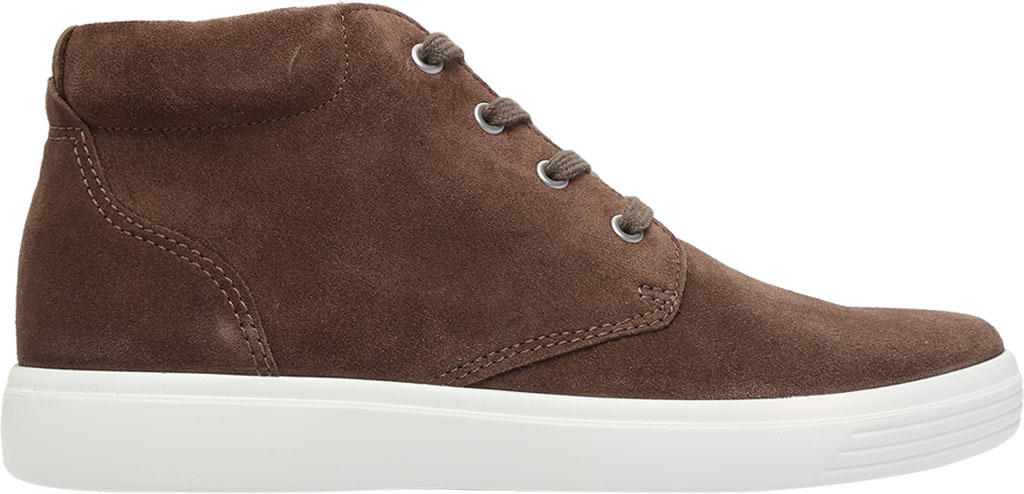 Men's ECCO Soft Classic Chukka Boot, Dark Clay Suede, large, image 2