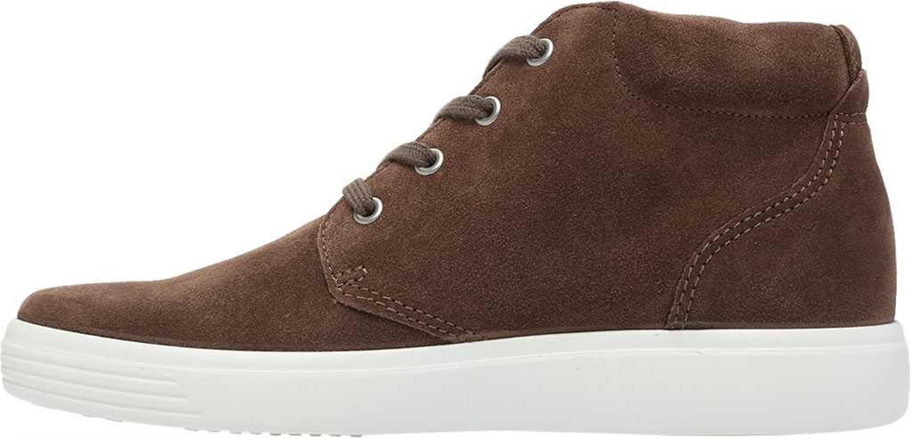 Men's ECCO Soft Classic Chukka Boot, Dark Clay Suede, large, image 3