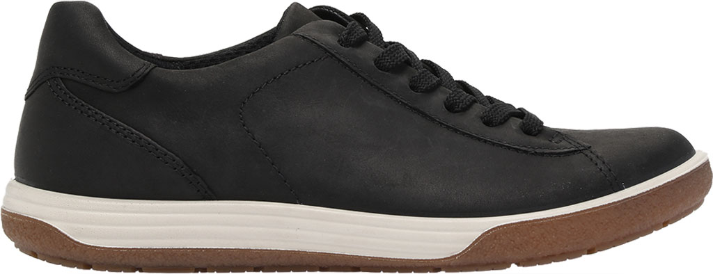 Women's ECCO Chase II Tie Hydromax Water Resistant Sneaker, Black Nubuck, large, image 2