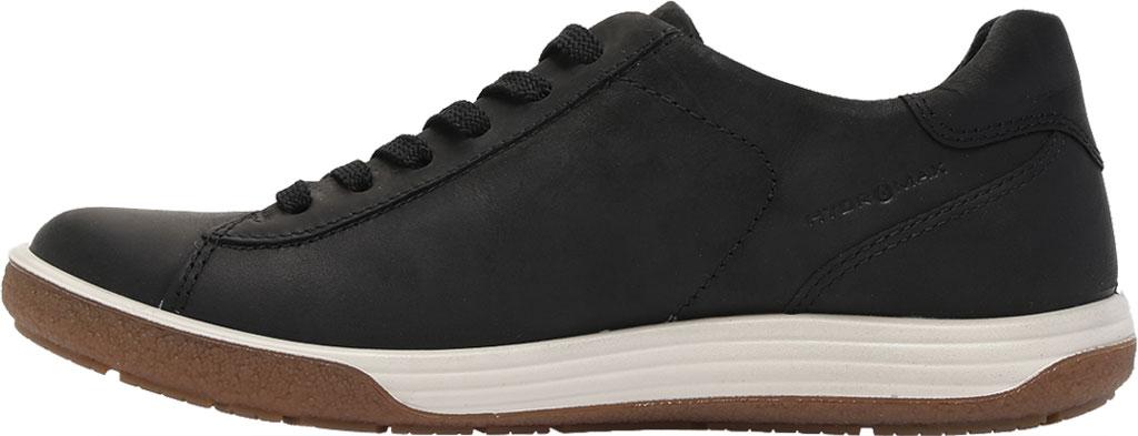 Women's ECCO Chase II Tie Hydromax Water Resistant Sneaker, Black Nubuck, large, image 3