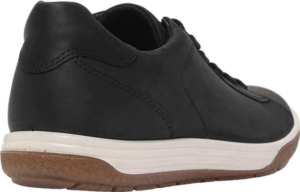 Women's ECCO Chase II Tie Hydromax Water Resistant Sneaker, Black Nubuck, large, image 4