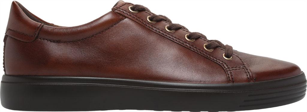 Men's ECCO Soft Classic Tie Sneaker, Cognac Brushed Nubuck, large, image 2