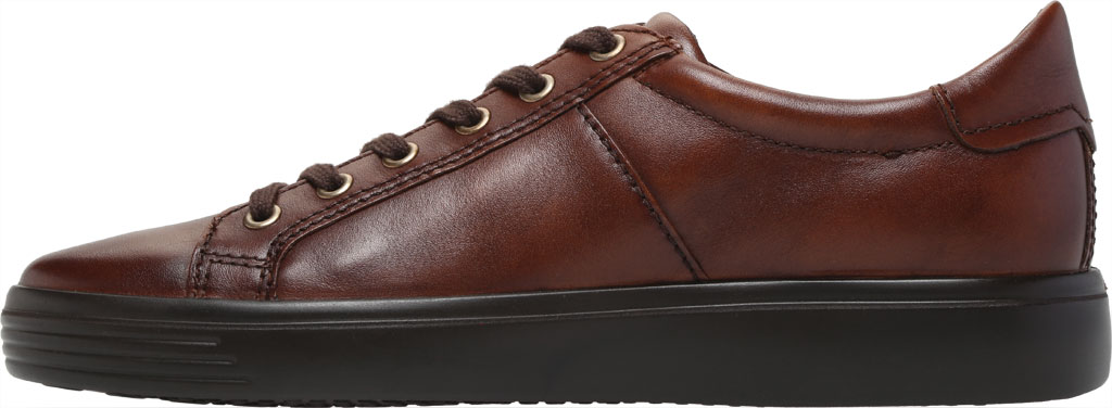 Men's ECCO Soft Classic Tie Sneaker, Cognac Brushed Nubuck, large, image 3