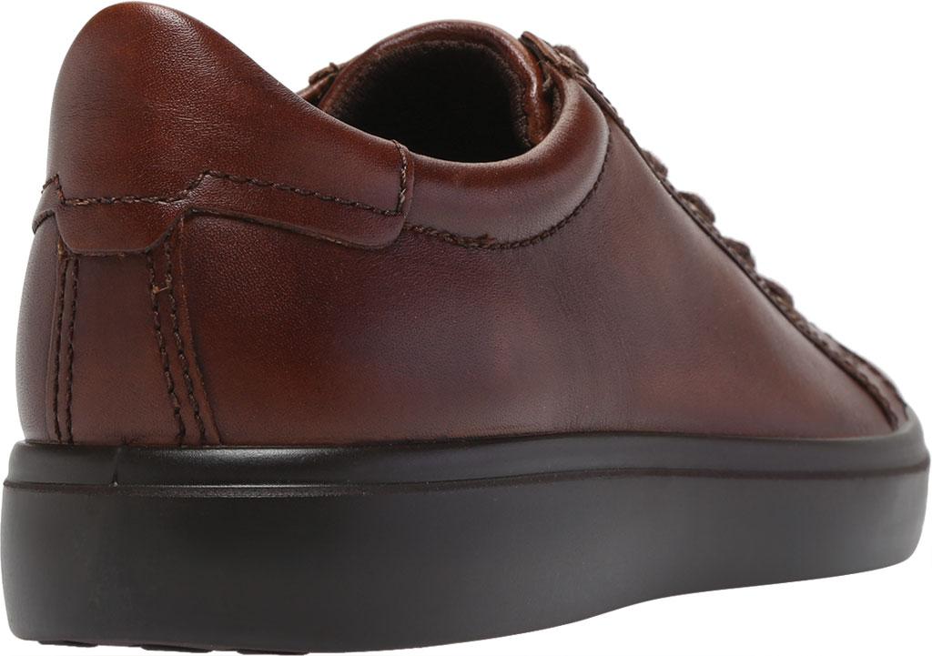 Men's ECCO Soft Classic Tie Sneaker, Cognac Brushed Nubuck, large, image 4