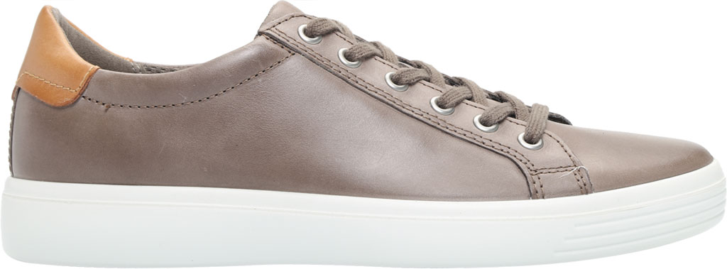 Men's ECCO Soft Classic Tie Sneaker, Dark Clay/Lion Brushed Nubuck, large, image 2