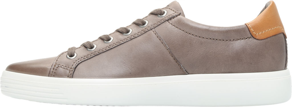 Men's ECCO Soft Classic Tie Sneaker, Dark Clay/Lion Brushed Nubuck, large, image 3