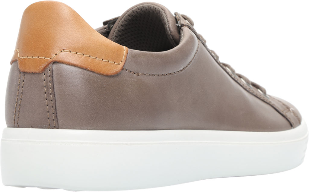 Men's ECCO Soft Classic Tie Sneaker, Dark Clay/Lion Brushed Nubuck, large, image 4