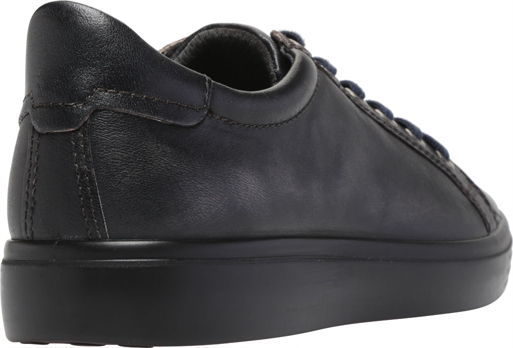 Men's ECCO Soft Classic Tie Sneaker, Magnet Crust Leather, large, image 4