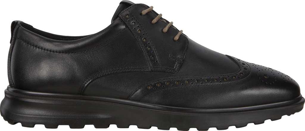 Men's ECCO CS20 Hybrid Wing Tip Oxford, Black Full Grain Leather, large, image 2