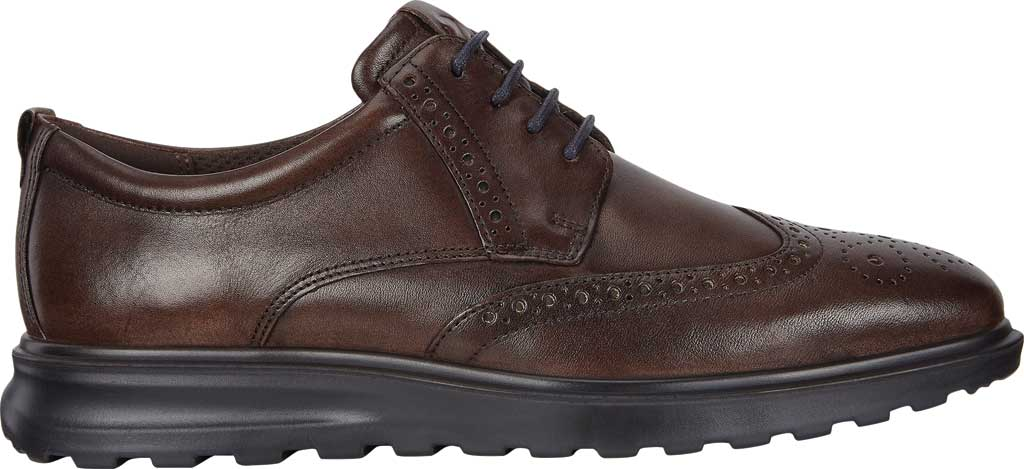 Men's ECCO CS20 Hybrid Wing Tip Oxford, Cocoa Brown Full Grain Leather, large, image 2