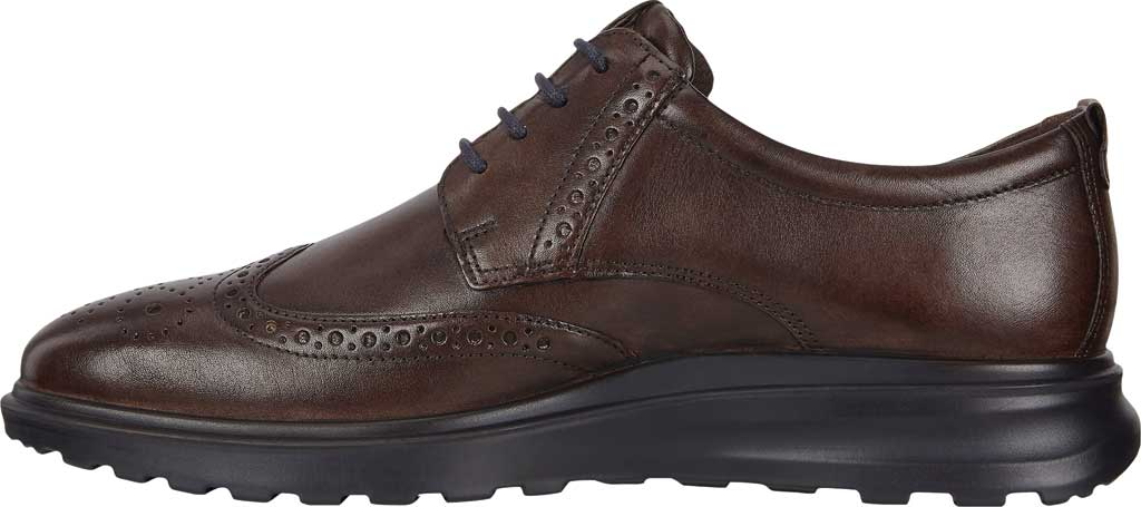 Men's ECCO CS20 Hybrid Wing Tip Oxford, Cocoa Brown Full Grain Leather, large, image 3