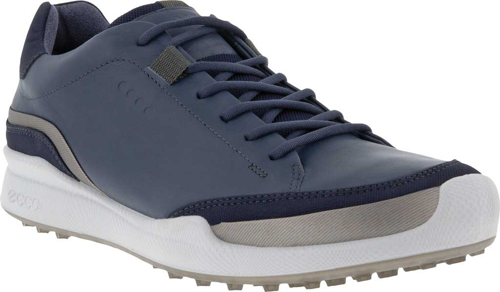 Men's ECCO Golf Biom Hybrid Laced Shoe, Ombre/Night Sky Yak Leather/Synthetic, large, image 1