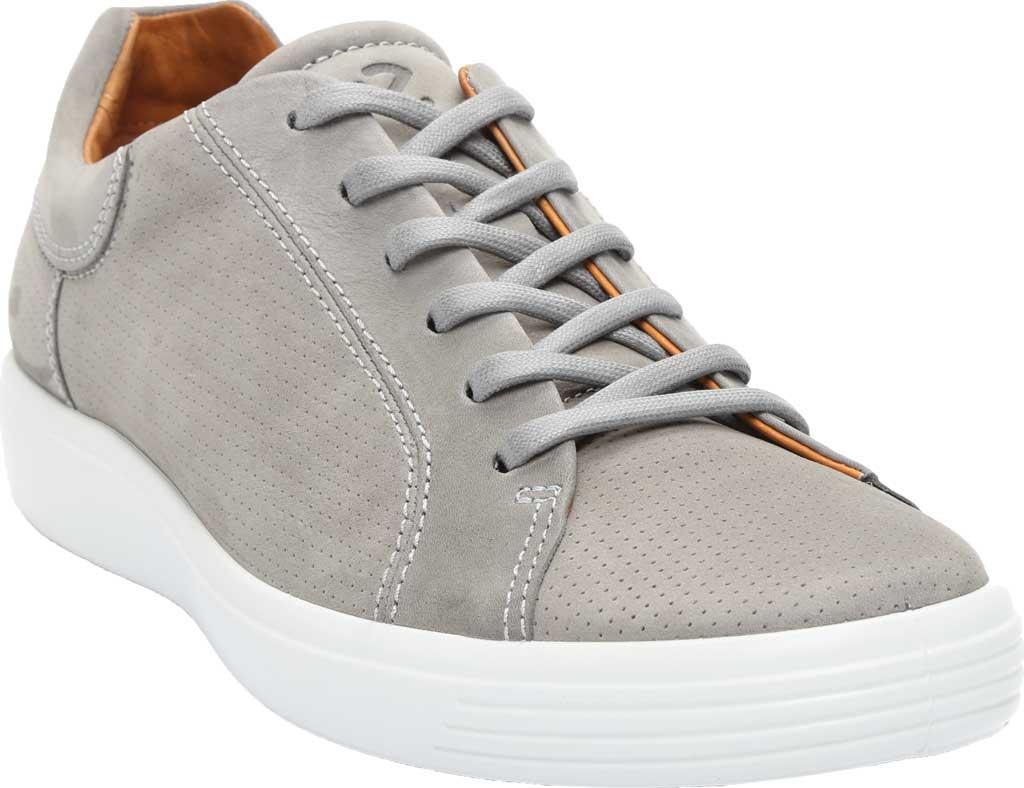 Men's ECCO Soft 7 Street Perforated Sneaker, Wild Dove Nubuck, large, image 1