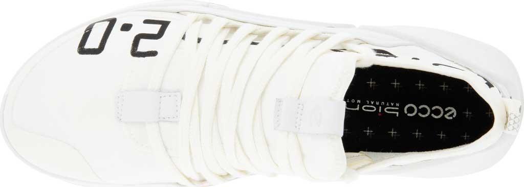 Women's ECCO Biom 2.0 Low Textile Sneaker, Bright White/White Textile/Leather, large, image 4