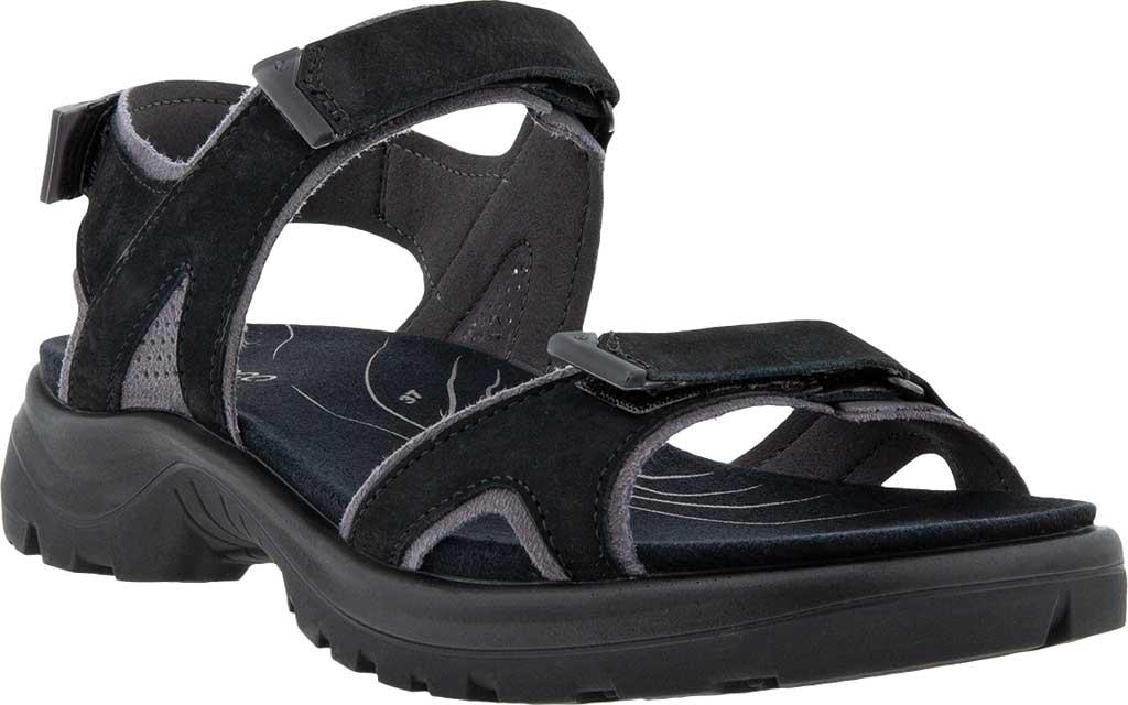 Women's ECCO Yucatan 2.0 Sport Sandal, Black Yak Nubuck, large, image 1