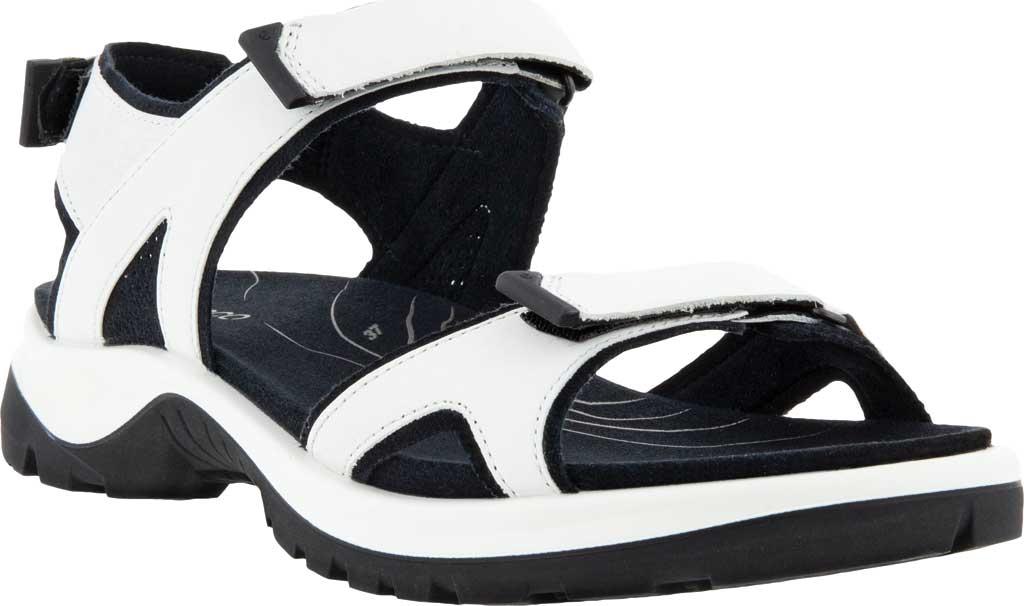 Women's ECCO Yucatan 2.0 Sport Sandal, White Yak Nubuck, large, image 1