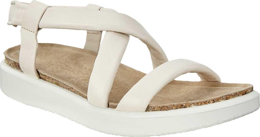 Women's ECCO Corksphere Strappy Slingback Sandal, Limestone Full Grain Leather, large, image 1