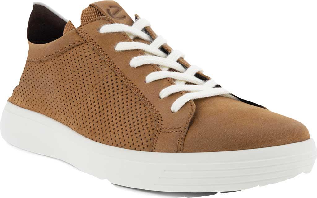 Men's ECCO Classic Summer Sneaker, Camel/White Nubuck/Nappa, large, image 1
