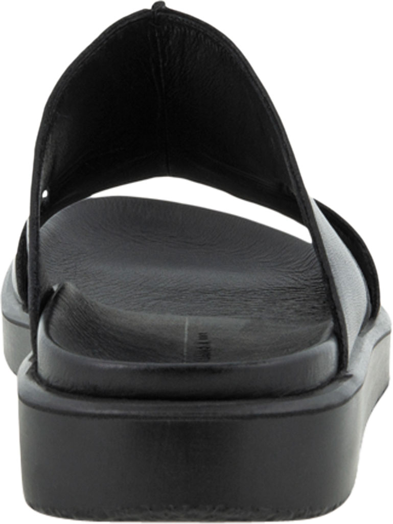 Men's ECCO Flowt Luxe Slide, Black Full Grain Leather, large, image 4