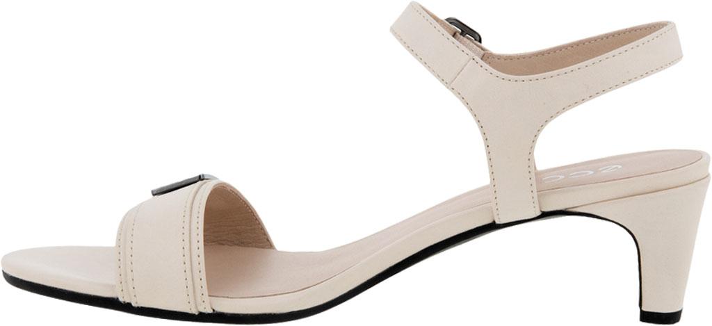 Women's ECCO Shape 45 Sleek Heeled Sandal, Limestone Full Grain Leather, large, image 3