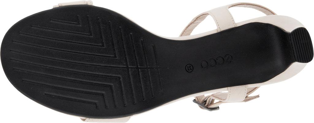 Women's ECCO Shape 45 Sleek Heeled Sandal, Limestone Full Grain Leather, large, image 5