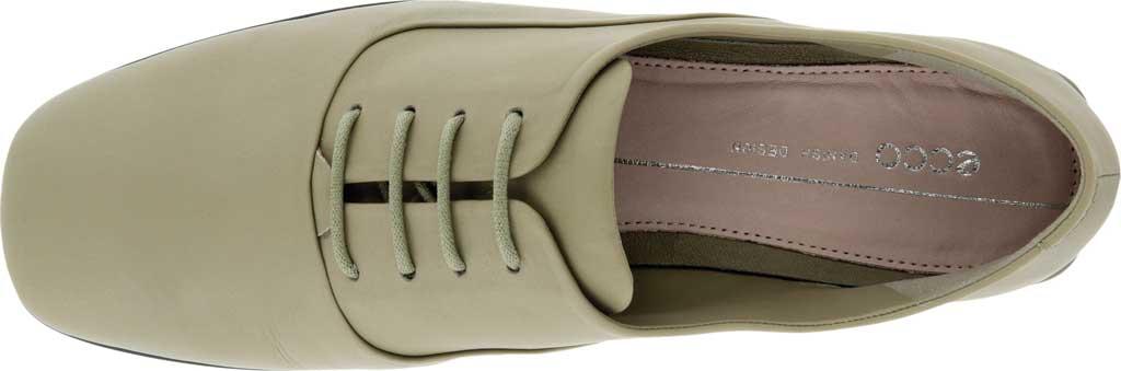 Women's ECCO Anine Squared Toe Tie Oxford, Vetiver Full Grain Leather, large, image 4