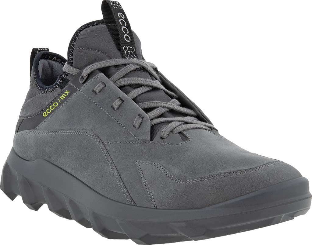 Men's ECCO MX Low Sneaker, Titanium Oiled Nubuck, large, image 1