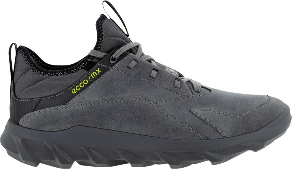 Men's ECCO MX Low Sneaker, Titanium Oiled Nubuck, large, image 2