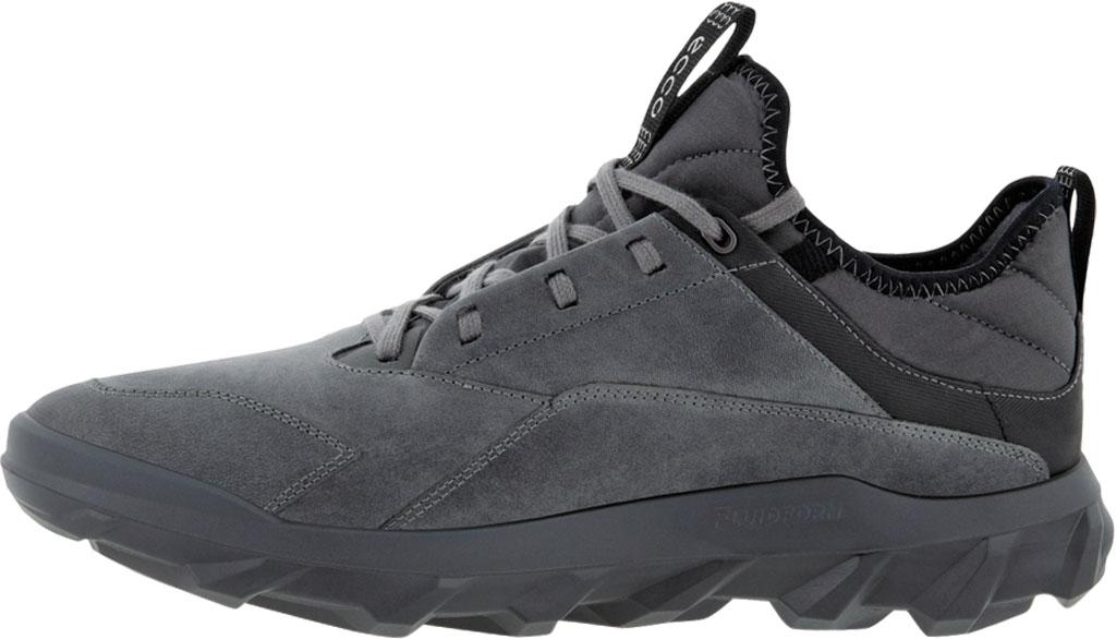 Men's ECCO MX Low Sneaker, Titanium Oiled Nubuck, large, image 3