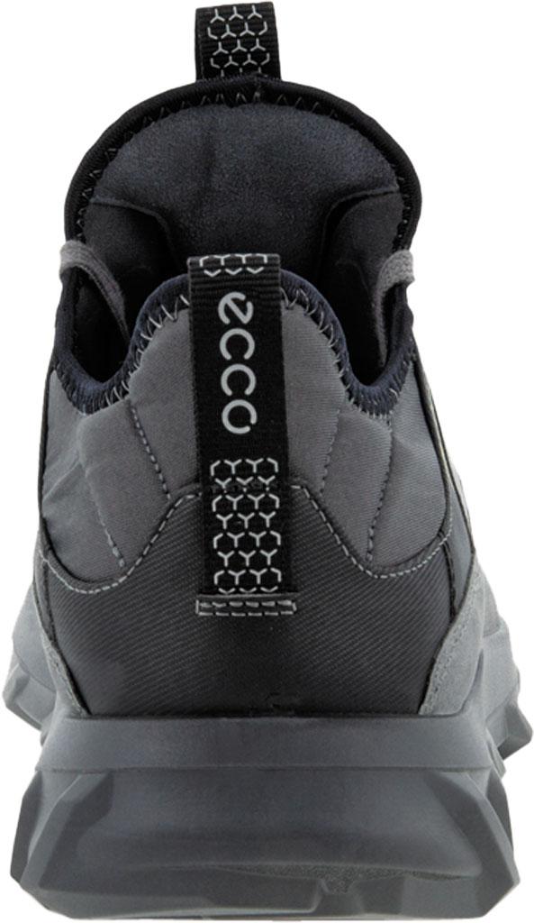 Men's ECCO MX Low Sneaker, Titanium Oiled Nubuck, large, image 4