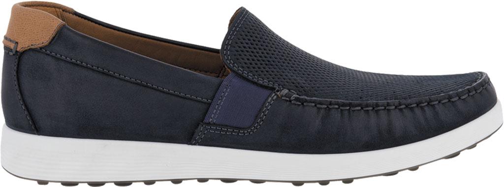 Men's ECCO S Lite Slip On Sneaker, Warm Grey/Cognac Perforated Nubuck, large, image 2