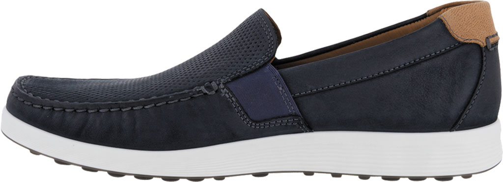 Men's ECCO S Lite Slip On Sneaker, Warm Grey/Cognac Perforated Nubuck, large, image 3