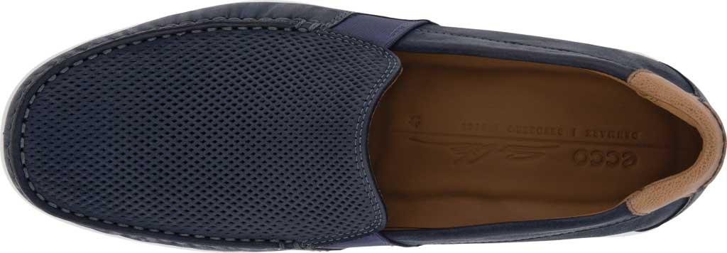 Men's ECCO S Lite Slip On Sneaker, Warm Grey/Cognac Perforated Nubuck, large, image 4