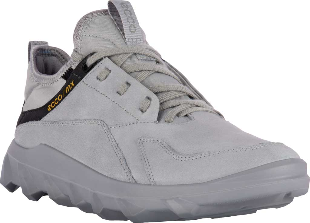 Women's ECCO MX Low Sneaker, Silver Grey Nubuck, large, image 1