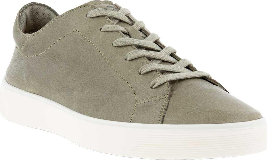 Men's ECCO Street Tray Retro Sneaker, Vetiver Full Grain Leather, large, image 1