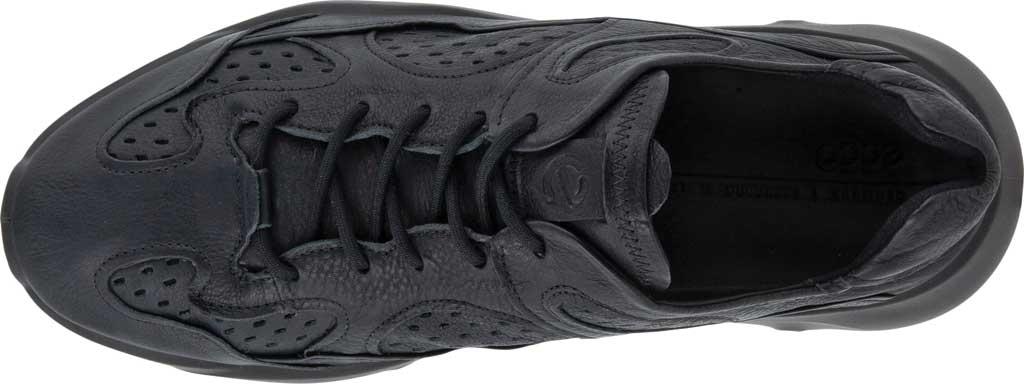 Men's ECCO Chunky Sneaker, Black Full Grain Leather, large, image 4