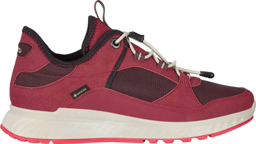 Women's ECCO Exostride Low GORE-TEX Sneaker, Syrah/Fig Synthetic, large, image 2